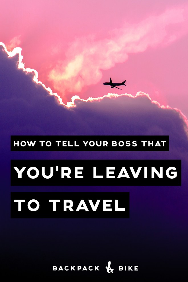 how to tell your team you are leaving