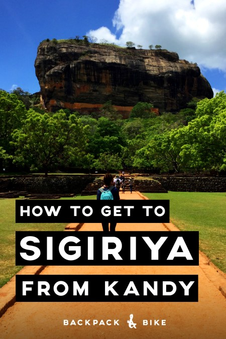 How to get to Sigiriya from Kandy | Sri Lanka | How long does it actually take to travel from Kandy to Sigiriya? And how on earth do I get there? Here is how we did it.
