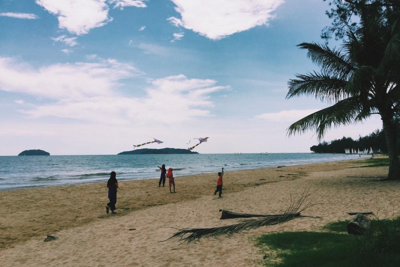Tanjung Aru Beach Malaysia