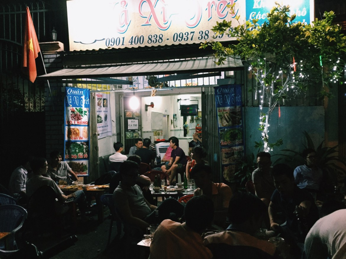 Ho chi minh city restaurant