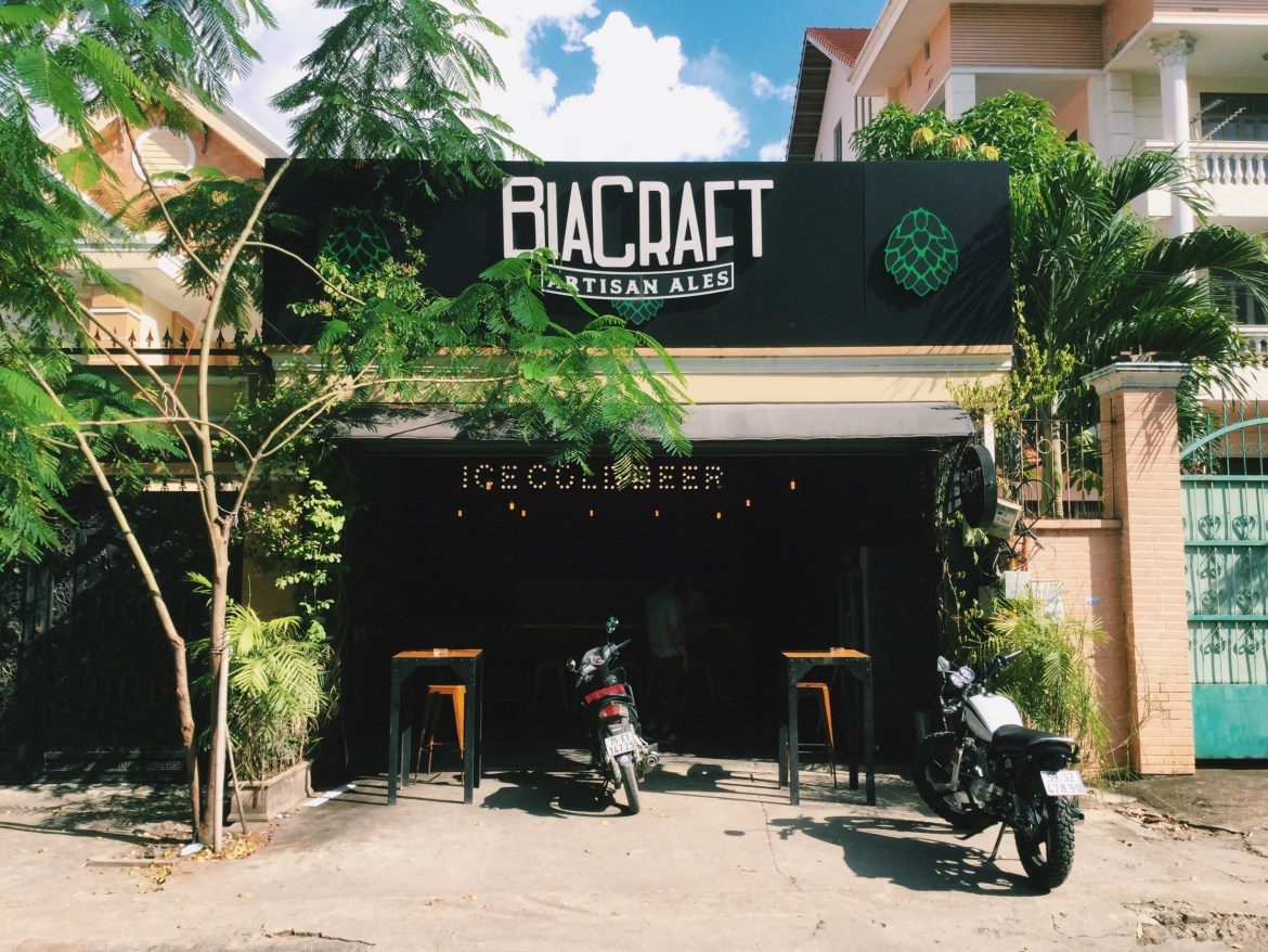 Bia craft saigon