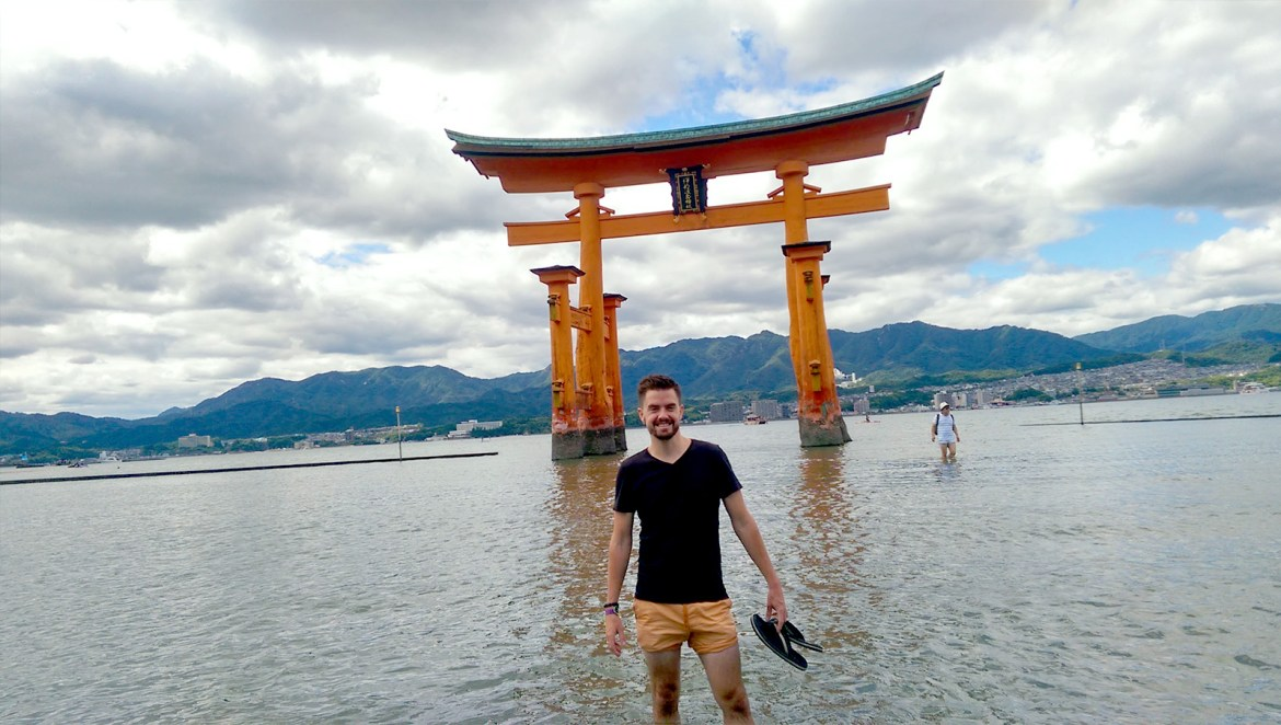 Floating Tori | 11 Cheap Things To Do In Hiroshima, Japan