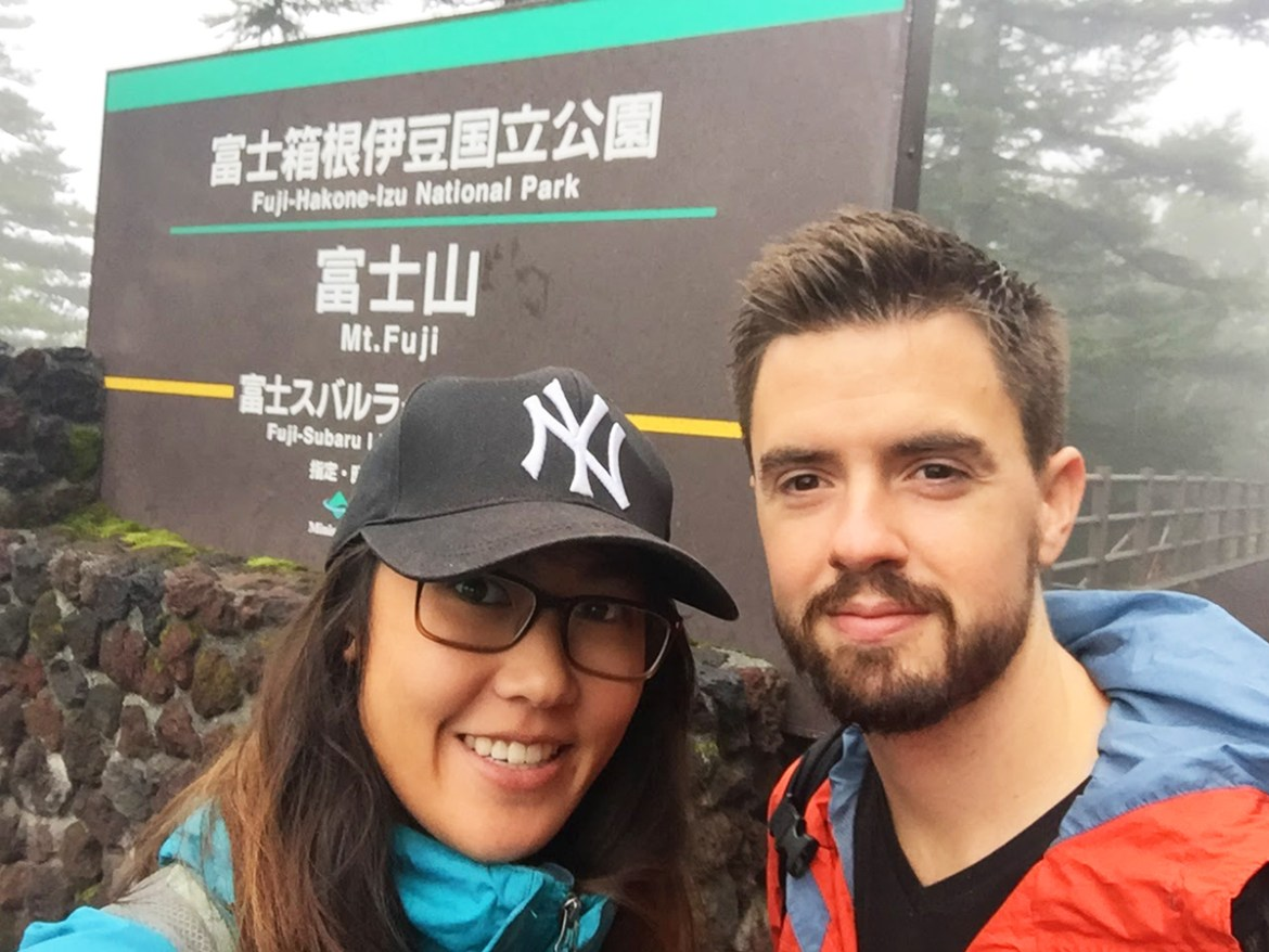 Hiking Mount Fuji