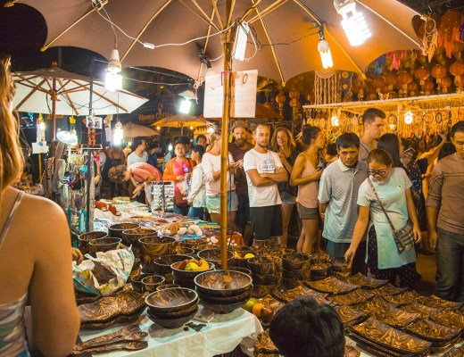 People exploring Chiang Mai Night Market