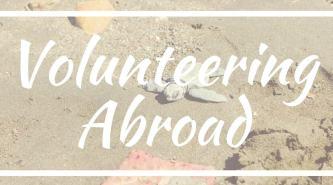 volunteering abroad tips box