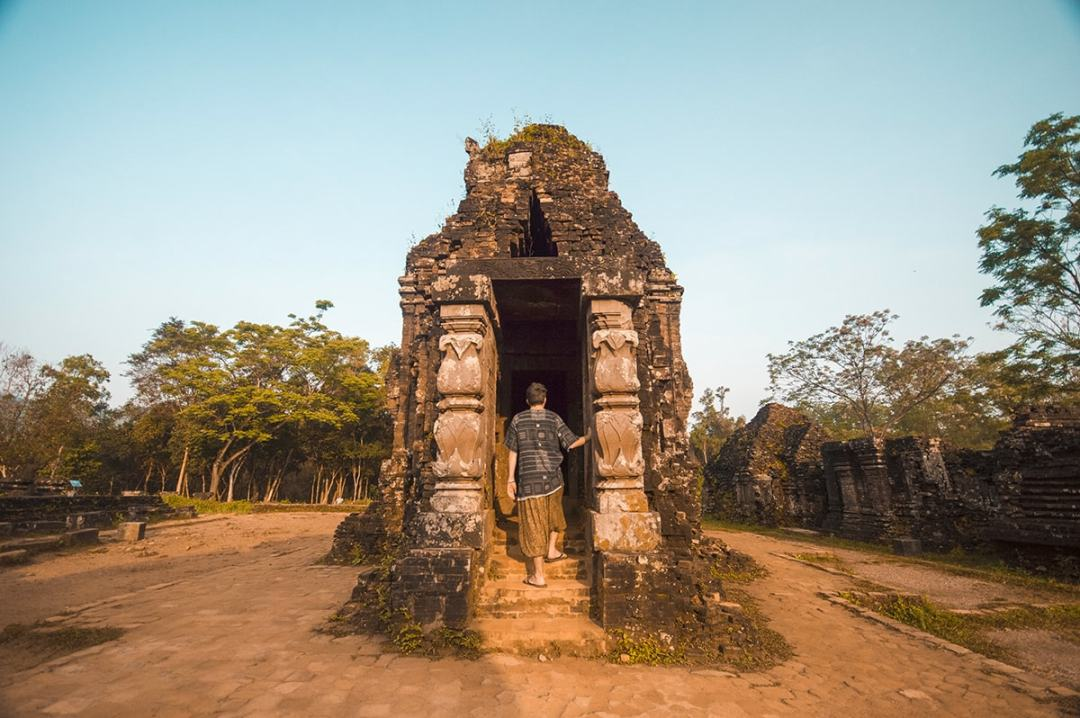 Exploring My Son Temple In Hoi An, Vietnam | My Son | Hoi An | Adventure | Backpack South East Asia | Travel | Backpacking | Must Visit | Do Not Miss | Vietnam | What to do in | History | Adventure | Photography | Backpackers Wanderlust |