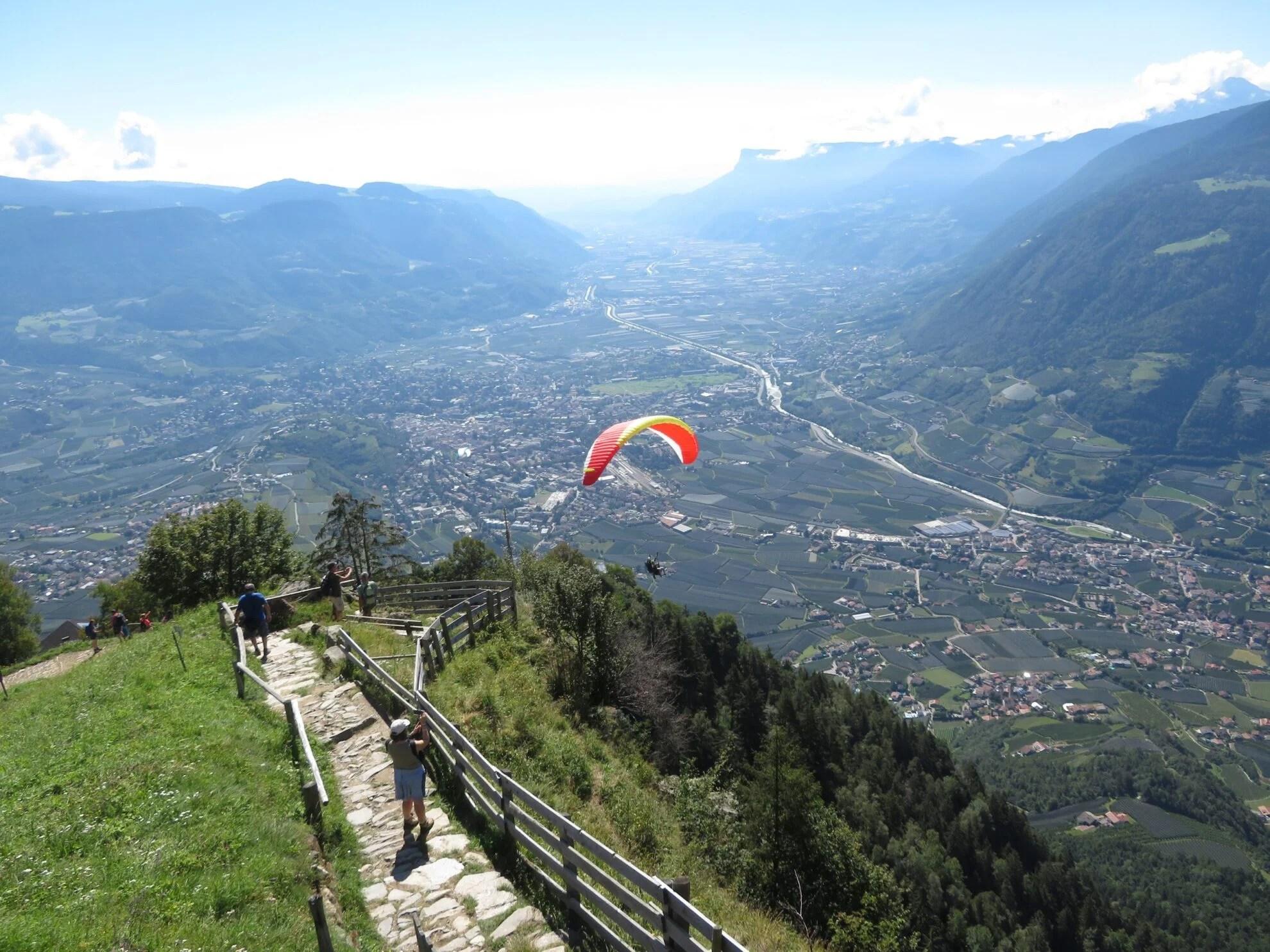 Wandelroutes in Meraner Land |  Dorf Tirol | Mutspitz | Hochmuth