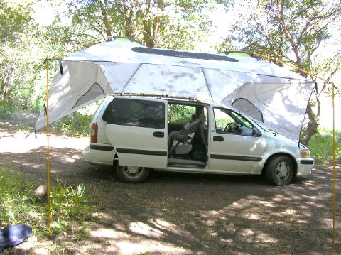 Kelty Carport Deluxe Shelter Test Report By Jerry Goller