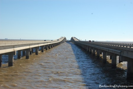 New Orleans causeway bridge is one of the longest bridges in the world.
