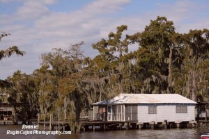 Louisiana houseboat