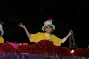 Mardi Gras krewe member