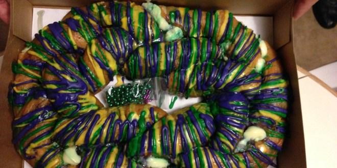 The Louisiana King Cake