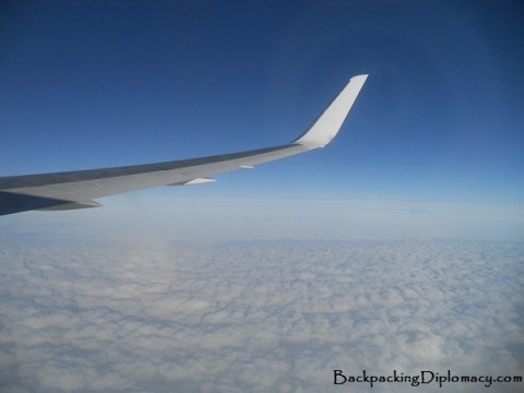Flying above the clouds with Air Transat