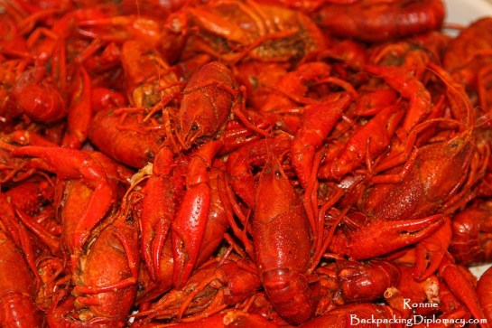 Louisiana crawfish. How to boil crawfish Louisiana style