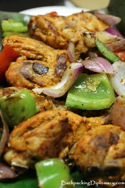 Indian style kebab