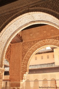 Arches in Alhambra