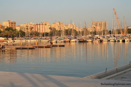 Insider tips Barcelona. The marina of Barcelona