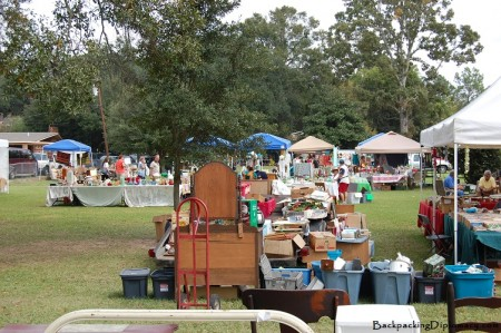 Antique market in Washington Louisiana. This market is a fun time full of relics from the past and great food. You can find antiques while getting to know a small town in Louisiana.