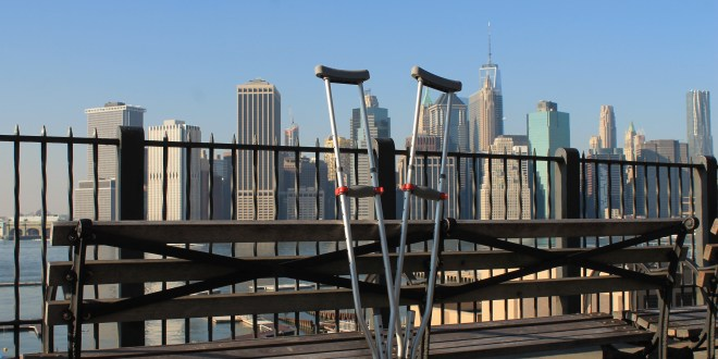 New York City on Crutches