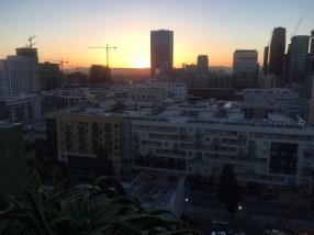 Sunset from DTLA