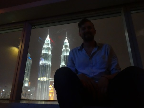 View from the skybar in KL (Malaysia, 2016).