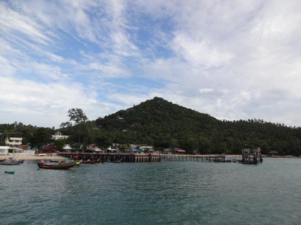 View of the local harbor (Thailand, 2016).