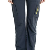 Geval Women's Outdoor Waterproof Breathable Quick Drying Pants Grey