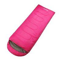 KingCamp Envelop Sleeping Bag 4 Season Lightweight Comfort with Compression Sack Camping Backpack