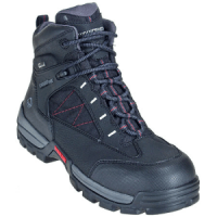 Wolverine Boots Men's 2363 Black Amphibian CarbonMax Composite Toe Hiking Boots