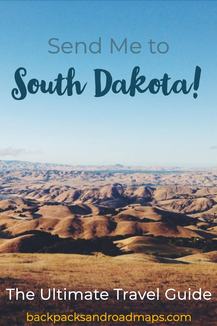 Look no further for your ultimate South Dakota travel guide. Western South Dakota has so much to offer and we\'ve put together all the best things to see and do while you\'re there. From the eclectic Wall Drug to national parks and monuments—this area has something everyone will love! #southdakota #sodak #blackhills #badlands #custerstatepark #walldrug #hiking #wildlife #bison #roadtrip #usaroadtrip #vanlife #needleshighway #mountrushmore #windcave #jewelcave