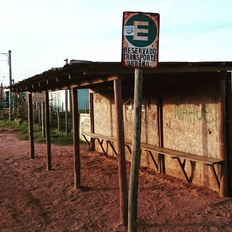 Bus Stop In Punta Del Diablo