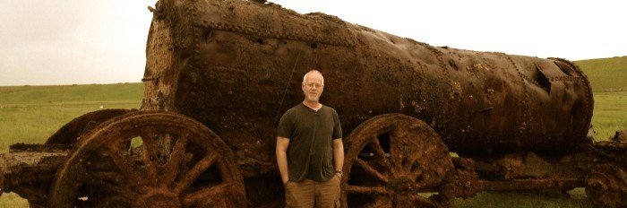 Manchester Locomotive Unearthed in Central Florida