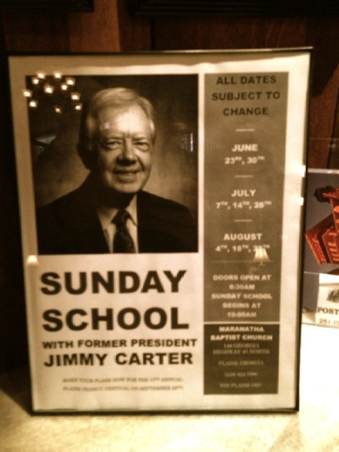 IMG 2620 - An Audience With the President: Jimmy Carter's Sunday School Class