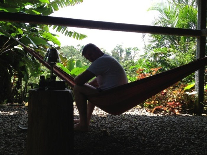 Jerry Woods in Hammock House at Villa Hermosa La Fortuna Costa Rica - Villa Hermosa: Your Home Away from Home in Costa Rica