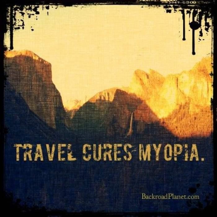 Myopia meme - Original Travel Quote Memes #1
