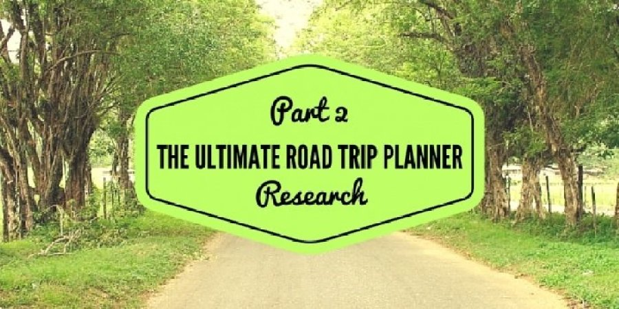 Copy of PART 1  PRE PLANNING 1 - Design Your Own Tennessee Road Trip