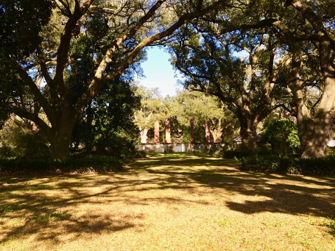 Tezcuco Plantation Ruins - Louisiana's River Road Plantations