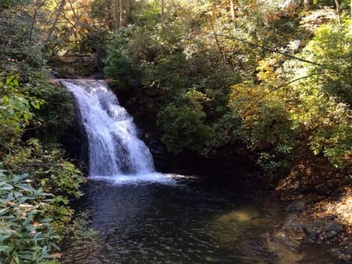 Blue Hole Falls Georgia