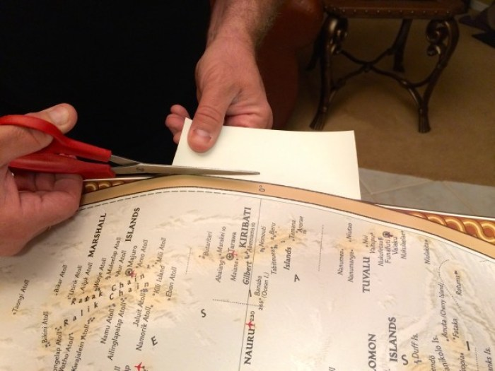 IMG 4651 - How to Hang a National Geographic World Map Mural