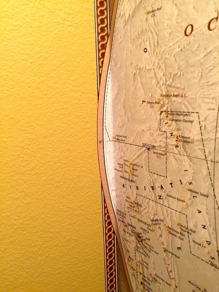 IMG 4673 - How to Hang a National Geographic World Map Mural