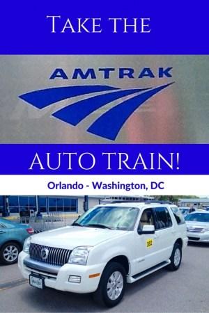 Take the - Take the Amtrak Auto Train from Florida to Virginia