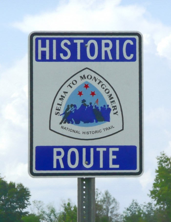 Selma to Montgomery marches   historic route retouched - Retracing the Selma to Montgomery March