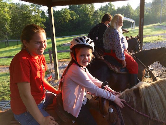 Kids Riding Horses Indiana