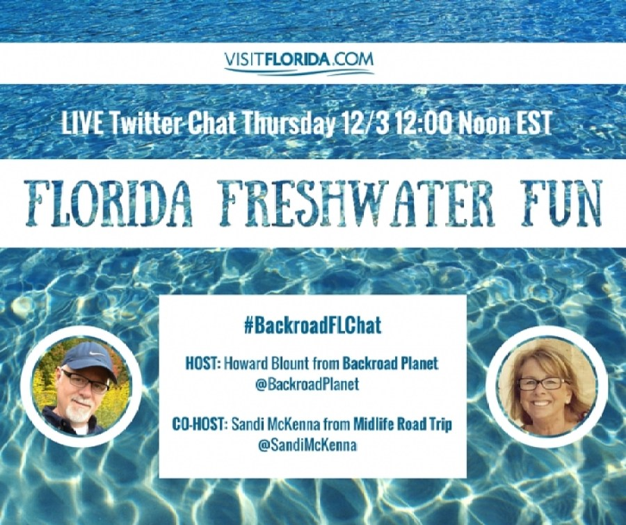 Florida Freshwater Fun Twitter Chat Promo