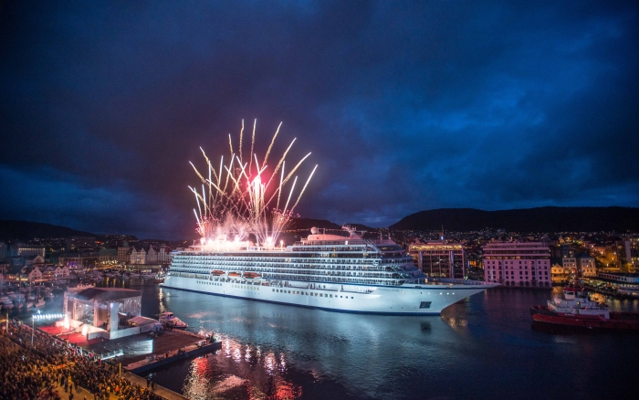 STAR CHRISTENING BERGEN 5161 - 18 Reasons to Cruise the Mediterranean on the Viking Star