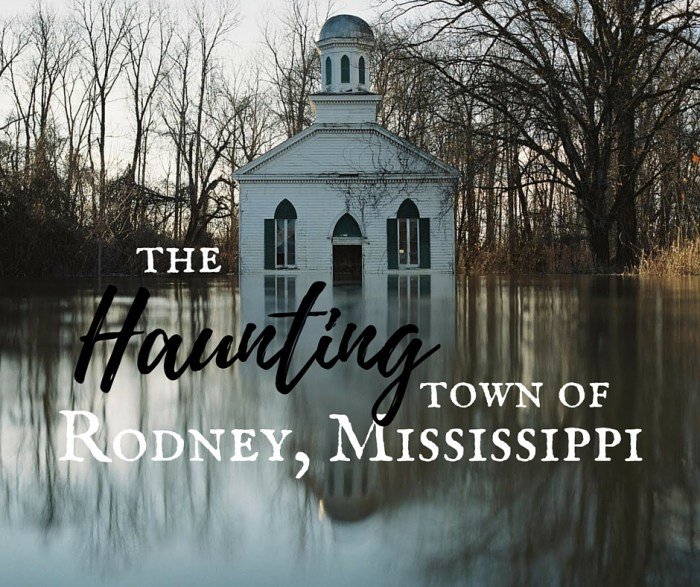Haunting 8 - A Southern Mississippi Road Trip