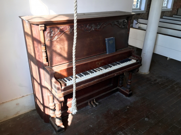 Piano Presbyterian Church Ghost Town Rodney Mississippi
