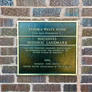 Eudora Welty Home Garden Jackson Mississippi Sign