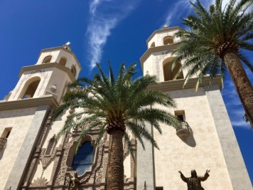 Cathedral Saint Augustine Tucson Arizona