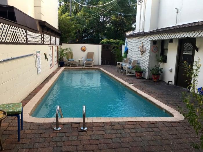 St. Francis Inn St Augustine Florida Pool